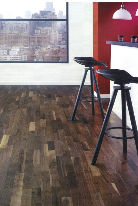 Parquet multilamaes noyer US