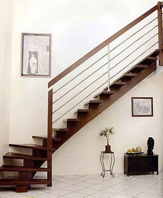 Escalier en bois standard et sur mesure