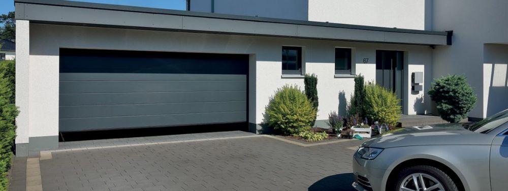 Porte de garage à Montereau
