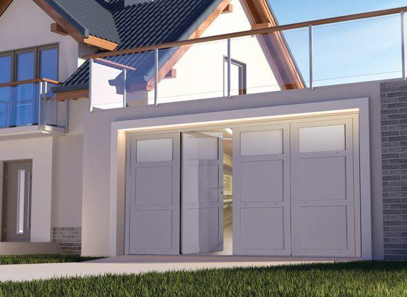 Porte de Garage en PVC