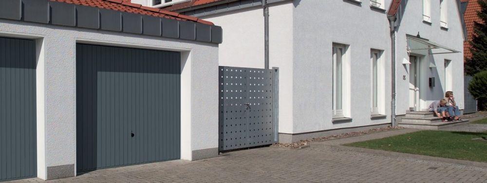 Porte de garage à Varennes sur Seine