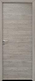 Porte intérieure grise