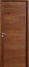 Porte intérieure en Acajou