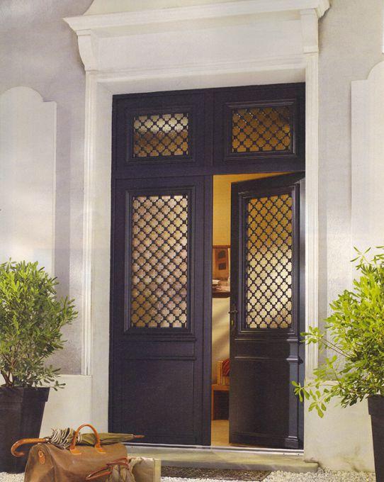 porte d'entrée bois Montmartre