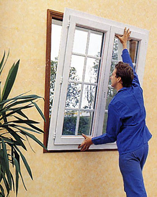 fenêtres avec pose sans dégats