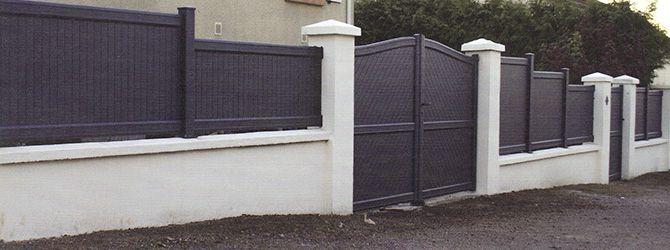 Portai let clôture aluminium thermolaqué Mathor