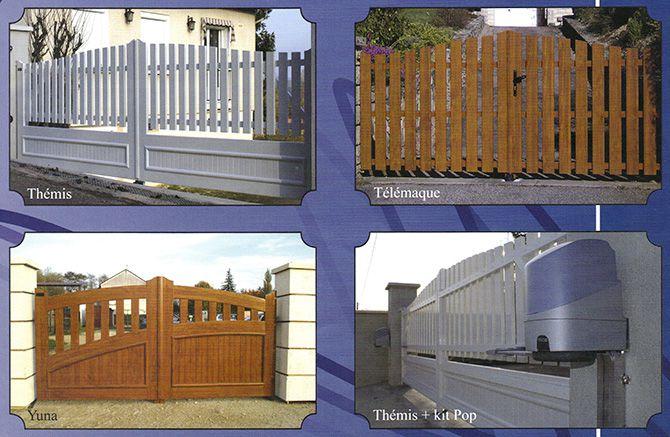 Portail PVC et motorisation