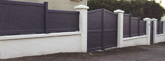 Portail et clôture aluminium thermolaqué Mathor
