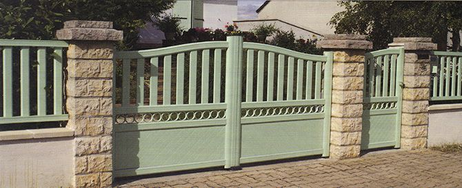 Portai let clôtures aluminium thermolaqué Socar